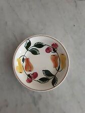 (5) Vtg Blue Ridge Southern Pottery Fruit Pattern Dessert Berry Bowls
