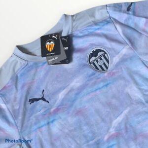 Puma Valencia CF Football Soccer Jersey Mens Medium M TN22177