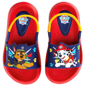 7//8 PAW PATROL CHASE /& MARSHALL Rubber Bottom Slippers Sizes 5//6 9//10 or 11//12