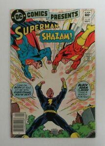 DC Comics Presents #49 (1982) Key Shazam Black Adam VF/FN 5.0 UU917