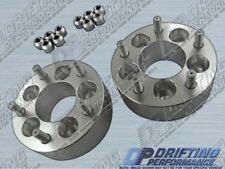 """Universal 2"""" (50mm) Wheel Adapters Spacers 5x100 to 5x114.3 Conversion 12x1.25"""
