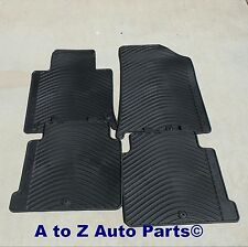 NEW 2015-2017 Hyundai Sonata FRONT & REAR set of All Weather Floor Mats,OEM