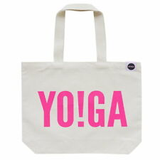 Hey Holla Bag Yoga Tote Bag In White/Pink RRP £20 **BNWT**