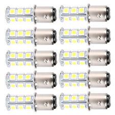 Lot10 Bright White T25/S25 1157 Bay15d 18-SMD 5050 LED Brake Light Bulb 12v