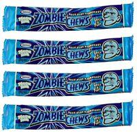 Zombie Chews Sour Blue Raspberry 20 Mega Size 28g Candy Buffet Bulk Lollies