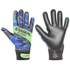 *NEW* KARAKAL JUNIOR CAMO GAA GAELIC GLOVES Blue XLarge XL Boys All Weather