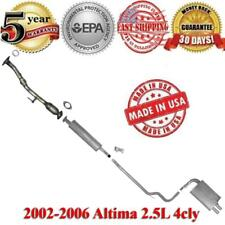 Exhaust Systerm Muffler + Catalytic Converter For Nissan Altima 2002-2006 2.5L