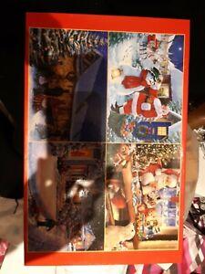 4 x 500 piece jigsaw puzzles