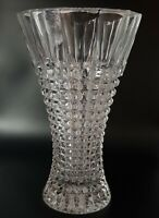 Stylish Hand Made Heavy Lead Crystal Flared Vase