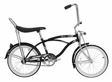 "Micargi 20"" Lowrider Beach Cruiser Bicycle Bike Low Rider 12"" frame Black"