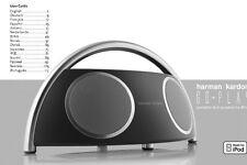 Harman Kardon Go-Play Hi-fi Speaker Owners Instruction Manual