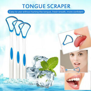 Tongue Scraper Tongue Brush Oral Care Scraper Tongue Cleaning Scraper