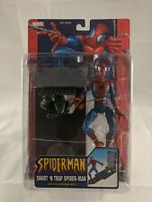 Marvel Shoot and Trap Spiderman with Villain Ambush Wall Action Figure 2004