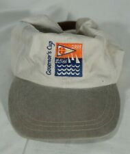 Vtg. 1998 Maryland Governor's Yacht Race Adjustable Hat, Nautical Boating