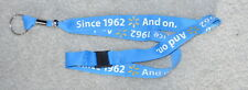 "WAL-MART  LANYARD BREAKAWAY LIGHT BLUE COLOR ""SINCE 1962"" SPECIAL"