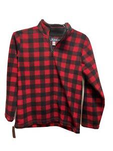 Childrens Place Boys Size Large 10/12 Quarter Zip Fleece Like Pullover