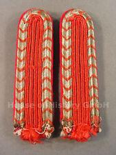 94285 Feuerwehr, Paar Schulterstücke für Feuerwehrmänner der Feuerschutzpolizei