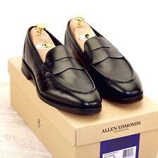 * Nib * $425 Allen Edmonds Mercer Street Loafer 9.5 D Black * new Trees Ae Bags
