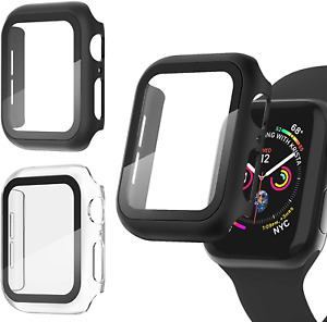Apple Watch Series 6/5/4/SE Screen Protector Case 44mm Durable Cover (3 Pack)