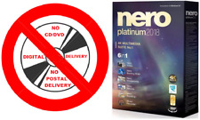 Nero Platinum 2018 Genuine Full Version CD/DVD/Blu-Ray Burn Rip Retail Edition