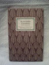 Ein altes deutsches Weihnachtsspiel, Nr. 418, 1956, Insel Verlag