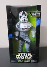 """AT-AT Driver 1997 STAR WARS Collector Series 12"""" 1/6 Scale MIB"""
