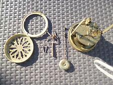 Pendule en marbre 1900 Mécanisme JAPY