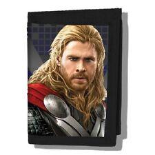 Marvel Comics The Avengers Age Of Ultron Thor Velcro Superhero Wallet