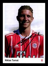 Niklas Tarnat Autogrammkarte Bayern München II 2017-18 Original Signiert
