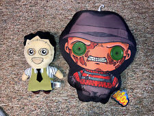 Mezco Flatzos 12 inch plush doll pillow FREDDY KRUEGER Nightmare on Elm St Lot
