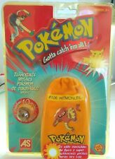 VINTAGE POKEMON POUCH MARBLES #106 HITMONLEE SERIES 1 NEW SEALED