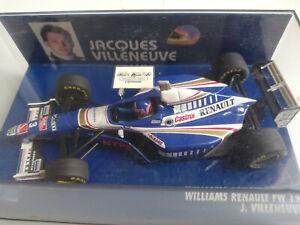 1/43 F1 Williams Renault FW19 Jacques Villeneuve champion 1997 MINICHAMPS
