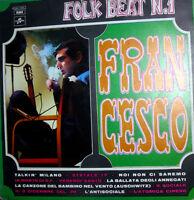 "12"" FRANCESCO GUCCINI LP FOLK BEAT N.1 1976 PRIMA RISTAMPA COLUMBIA 3C 064 17326"