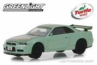Nissan Skyline GTR (BNR34) 2000, Scale 1:64 by Greenlight
