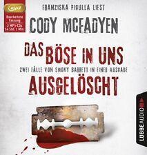 Das Böse in uns / Ausgelöscht (2 MP3-CDs) von Cody McFadyen (2016, MP3-Hörbuch)