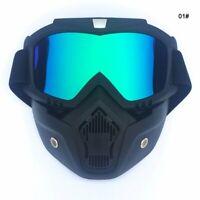 Full Face Mask Winter Snow Snowboard Ski Cycling Goggles  Skiing Eyewear outdoor
