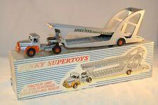 Dinky Toys REF 894 Tracteur Unic et Semi-Remorque Porte- Voitures BOILOT