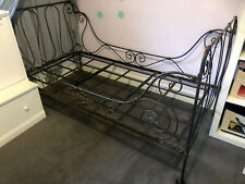 Antique Wrought Iron Single Bed/Daybed