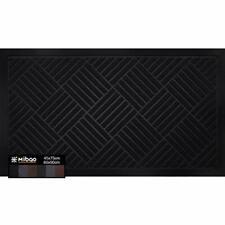 Door Mat,45cmx75cm,Outdoor and Indoor Mat,Low Profile Shoe Scraper Doormat