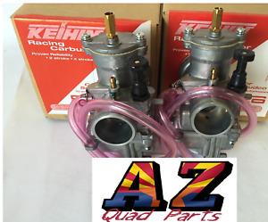 Keihin PWK 28mm 28 mil Carb Carburetors Pair Set Yamaha Banshee 350