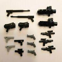 Lego Minifigure Accessory Weapon Gun Blaster Pistol Rifle Shotgun Military War