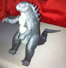 "Godzilla Toho WBEI 9"" Plastic Toy Figure Jointed Push Moving Tail"