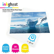 220gsm 20 Sheets Double Sided A4 Premium High Quality Matte inkjet Photo Paper
