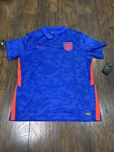 Nike England 2020-2021 Stadium Away Jersey Men's Soccer Shirt NEW CD0696-430