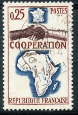 STAMP / TIMBRE FRANCE OBLITERE  N° 1432 COOPERATION AFRIQUE MADAGASCAR