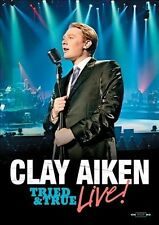 USED (VG) Clay Aiken: Tried & True Live! (2010) (DVD)