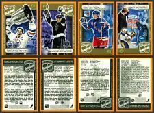 Wayne Gretzky Kraft 1999 Factory Set of 4 Upper Deck Cards 4.9 X 3.25 Oilers