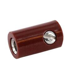 V002 - Marrón 10-pc acoplamientos 2,6mm Mini TOMAS MANGUITOS PARA Conector