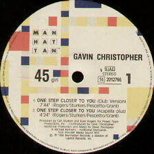 GAVIN CHRISTOPHER  - One Step Closer To You - EMI