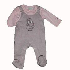 BONDI Girls Baby Stramplerset 2-tlg Mädchen Babystrampler Strampler rosa pink 50